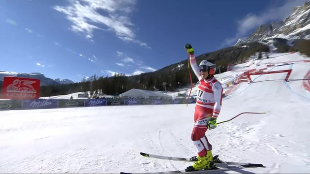 Cortina d'Ampezzo (ITA), descente dames: Ramona Siebenhofer (AUT) remporte la descente [RTS]