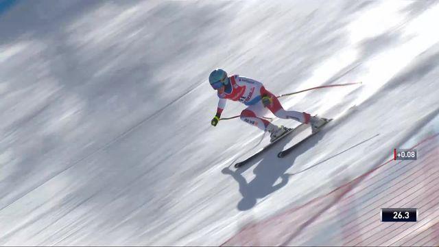 Cortina d'Ampezzo (ITA), descente dames: Wendy Holdener (SUI) [RTS]