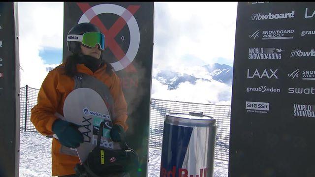 Laax (SUI), snowboard slopestyle dames: 3ème place pour Sina Candrian (SUI) [RTS]