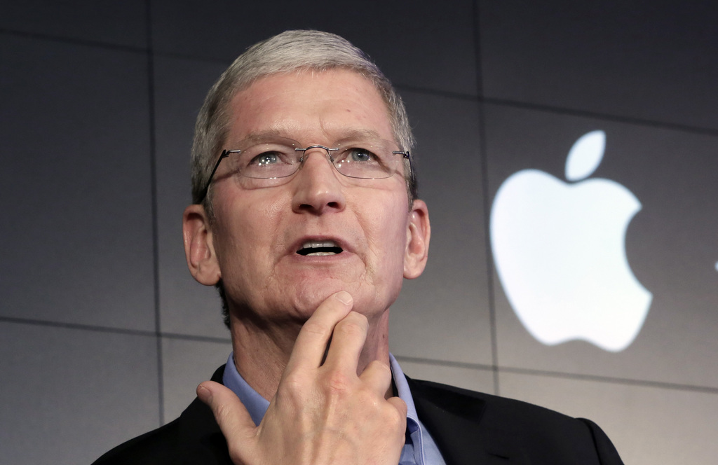 Tim Cook, le patron d'Apple.