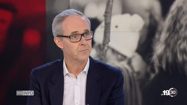 Benoît Genecand appelle les jeunes à s'engager en politique [RTS]