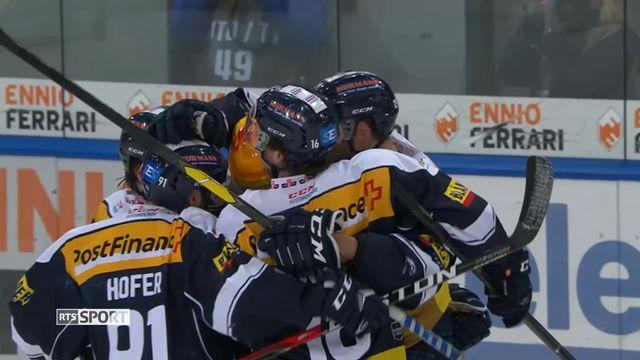 Hockey, National League, 36e journée: Ambri - Lausanne  (3-0) [RTS]