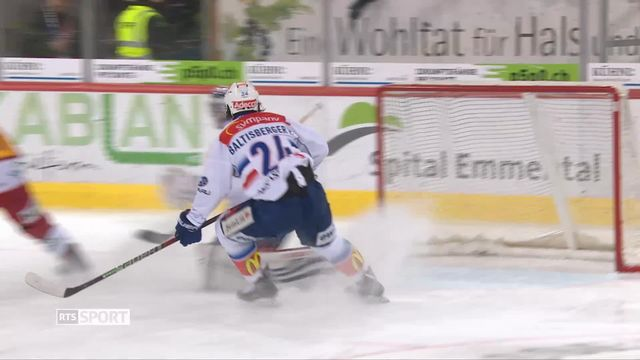 Hockey, National League, 36e journée: Langnau - Zurich (1-0) [RTS]