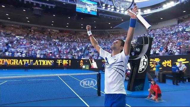3e tour N. Djokovic (SRB) - D. Shapovalov (CAN) (6-3, 6-4, 4-6, 6-0): Victoire de Djokovic [RTS]