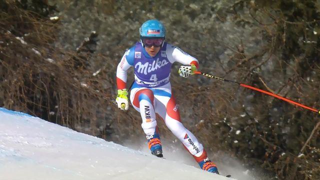 Cortina d'Ampezzo (ITA), descente dames: Jasmine Flury (SUI) [RTS]