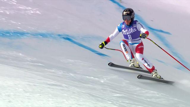 Cortina d'Ampezzo (ITA), descente dames: Lara Gut-Behrami (SUI) [RTS]