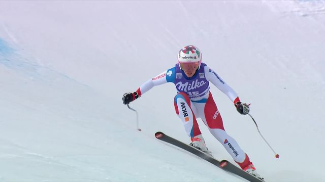 Cortina d'Ampezzo (ITA), descente dames: Michelle Gisin (SUI) [RTS]