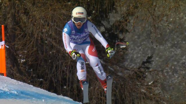 Cortina d'Ampezzo (ITA), descente dames: Joana Haehlen (SUI) [RTS]