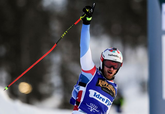 Alex Fiva s'est imposé avec brio en Suède. [Pontus Lundahl - Keystone]