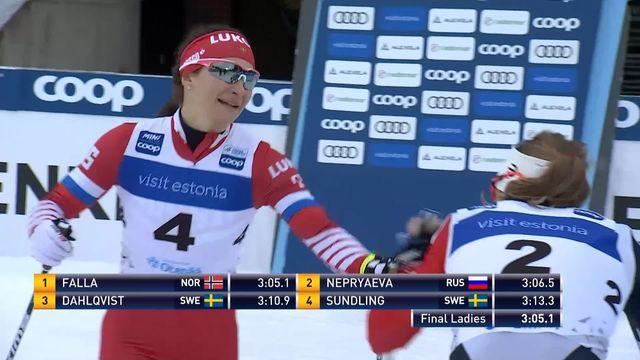Otepää (EST), sprint dames: victoire de Maiken Caspersen Falla (NOR) [RTS]