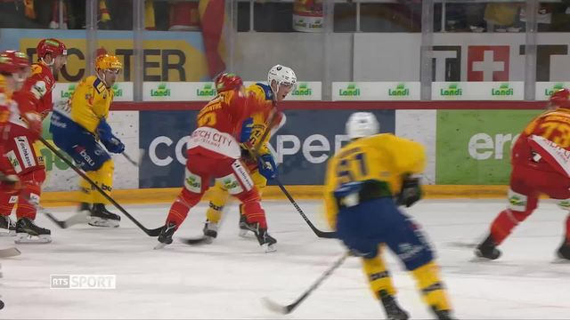 Hockey, National League: Résumé Bienne - Davos (4-2) [RTS]