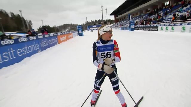 Otepaa (EST), 10 km dames: victoire de Therese Johaug (NOR) [RTS]