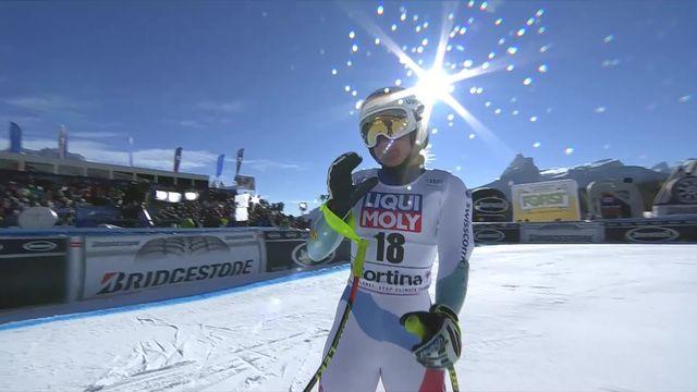Cortina d'Ampezzo (ITA), Super G dames: Joana Haehlen (SUI) [RTS]