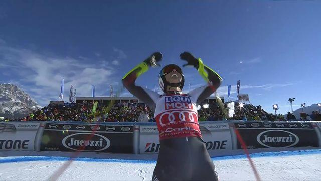Cortina d'Ampezzo (ITA), Super G dames: Mikaela Shiffrin (USA) [RTS]