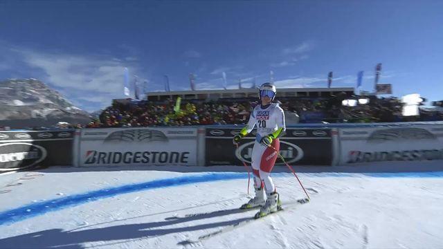 Cortina d'Ampezzo (ITA), Super G dames: Corinne Suter (SUI) [RTS]