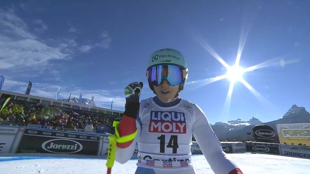 Cortina d'Ampezzo (ITA), Super G dames: Wendy Holdener (SUI) [RTS]