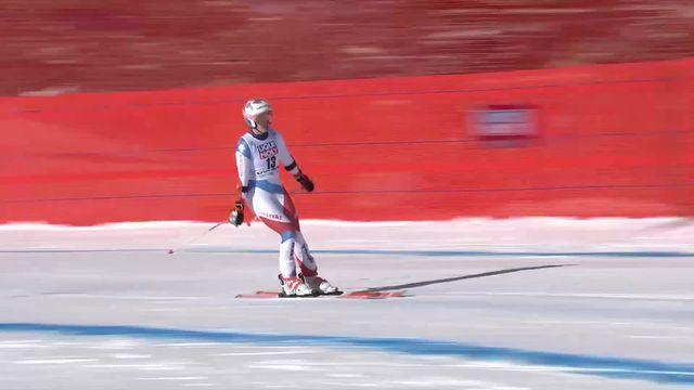 Cortina d'Ampezzo (ITA), Super G dames: Michelle Gisin (SUI) [RTS]
