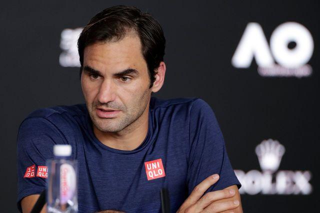 Contrairement aux quatre années précédentes, Roger Federer jouera à Roland-Garros cette saison. [Lynn Bo Bo - Keystone]