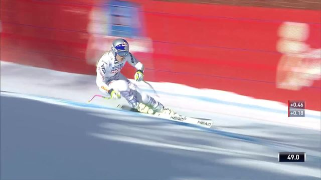 Cortina d'Ampezzo (ITA), Super G dames: Lindsey Vonn (USA) [RTS]