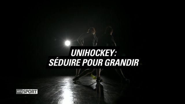 Le Mag: Unihockey: Séduire pour grandir [RTS]
