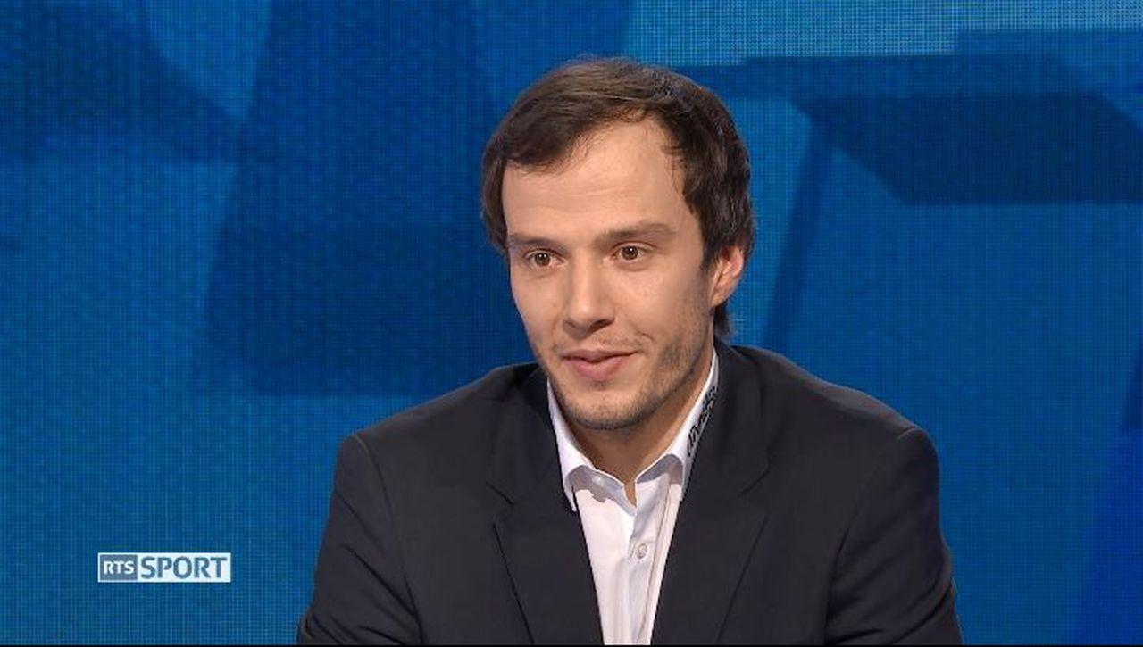 Julien Sprunger est un des rares clubistes du pays. [RTS]