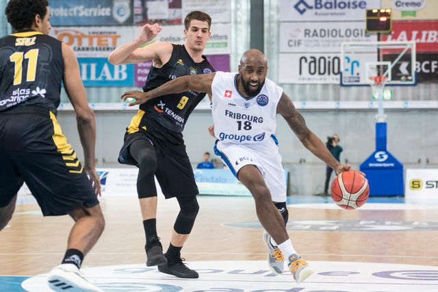 Champions League Fribourg Olympic - PAOK MD13 [Adrien Perritaz - Keystone]