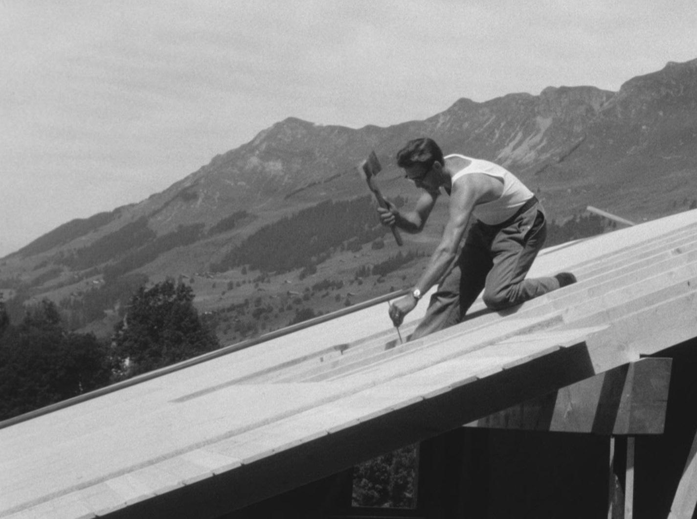 Construire un chalet en 1963