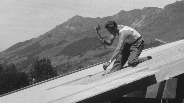 Construire un chalet en 1963 [RTS]