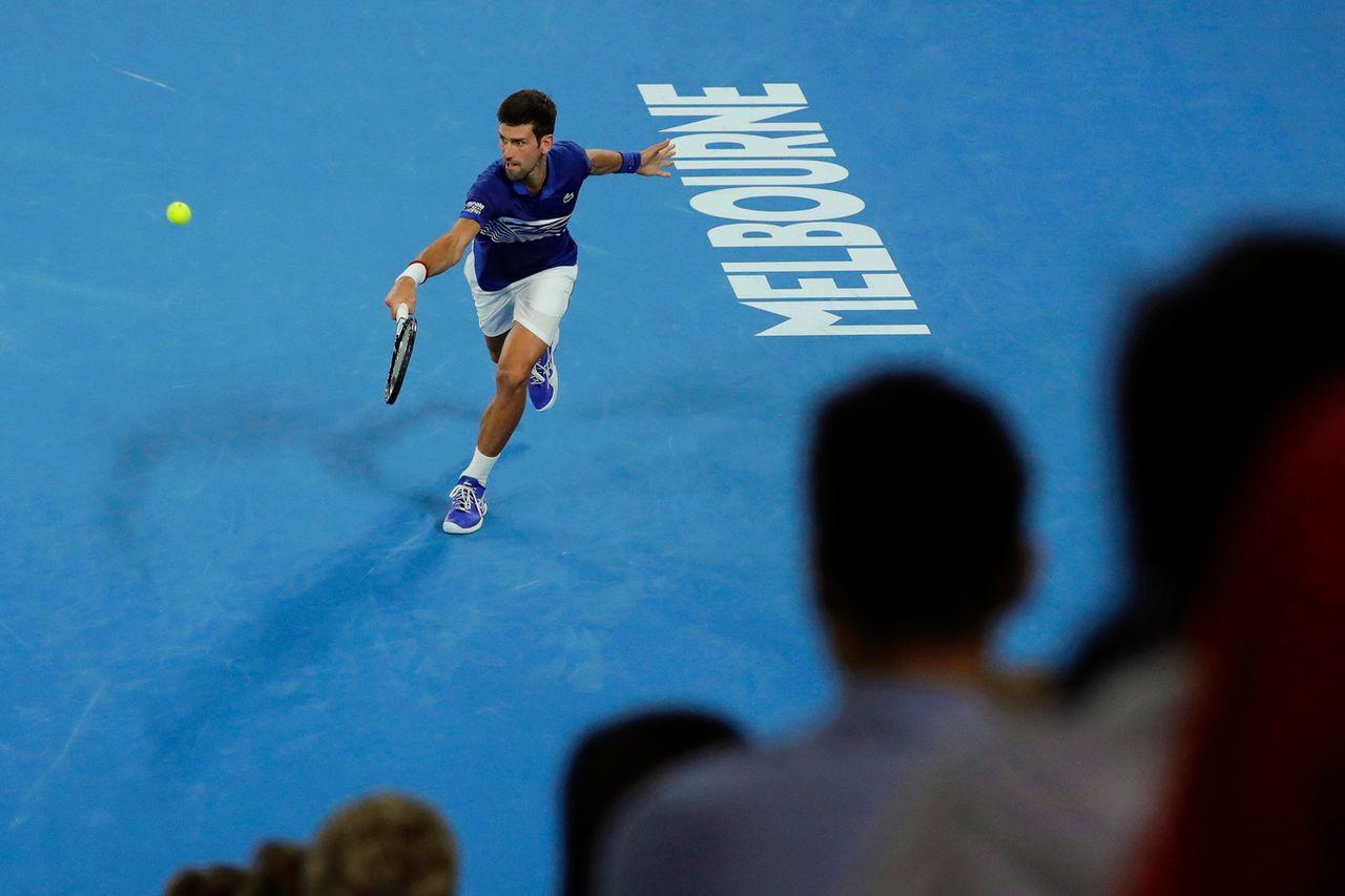 Djokovic a dû s'employer. [Mast Irham - Keystone]