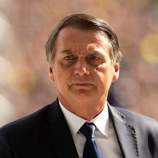 Le président brésilien Jair Bolsonaro. [Joedson Alves - Keystone/EPA]