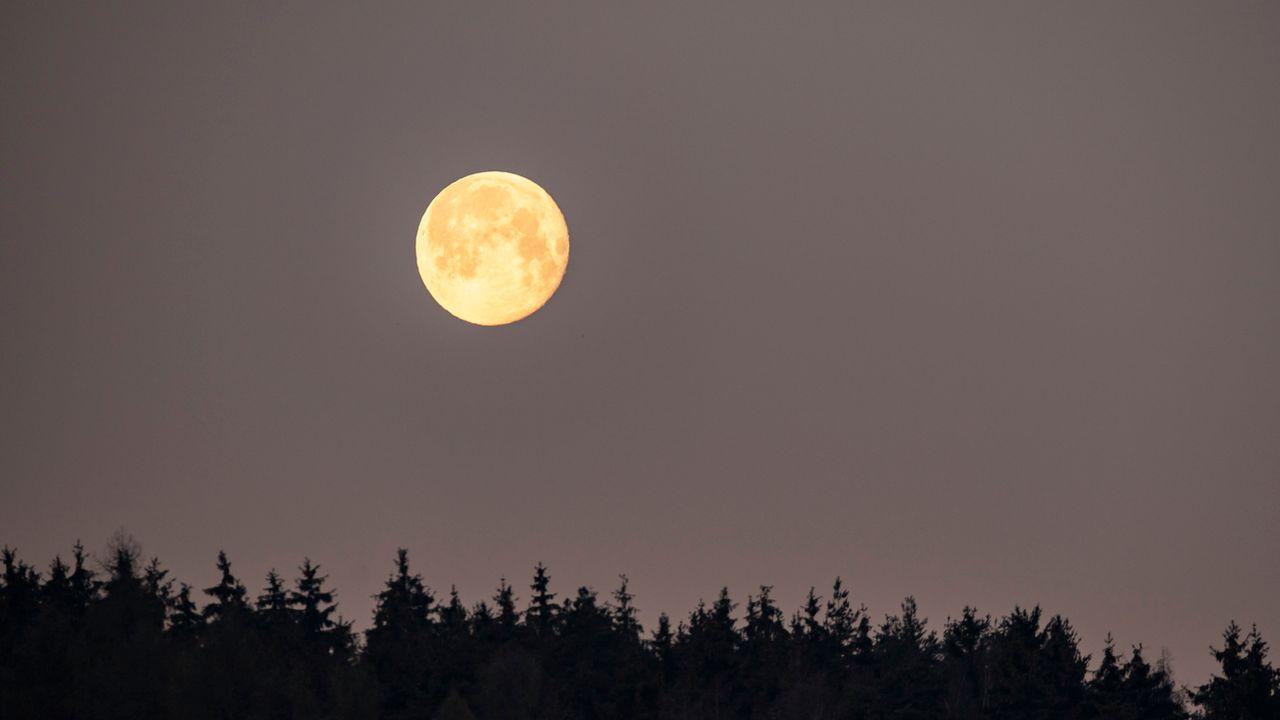 La Lune. [Lukas Barth-Tuttas - EPA/Keystone]