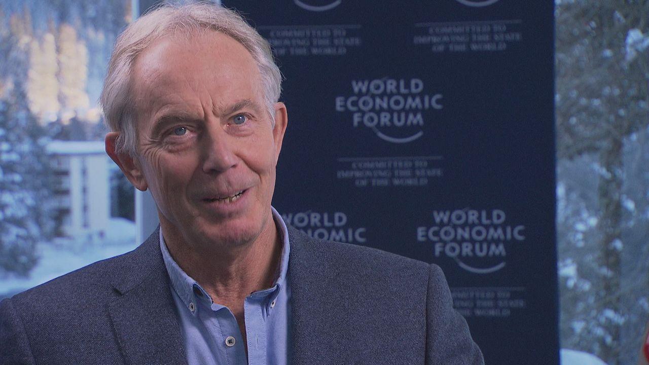 """Tony Blair: """"Le chemin de l'Europe sera plus long pour les Suisses que pour les Anglais"""" [RTS]"""