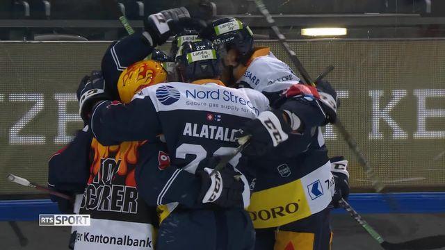 National League, 38e journée: Zoug - Genève (5-2) [RTS]