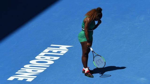 Serena Williams devra patienter pour remporter un 24e titre du Grand Chelem. [Julian Smith - Keystone]