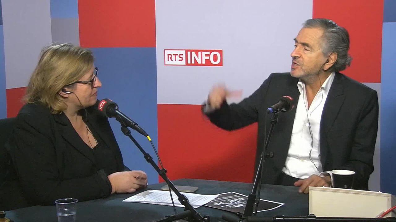 L'invité de La Matinale (vidéo) - Bernard-Henri Levy, philosophe français [RTS]