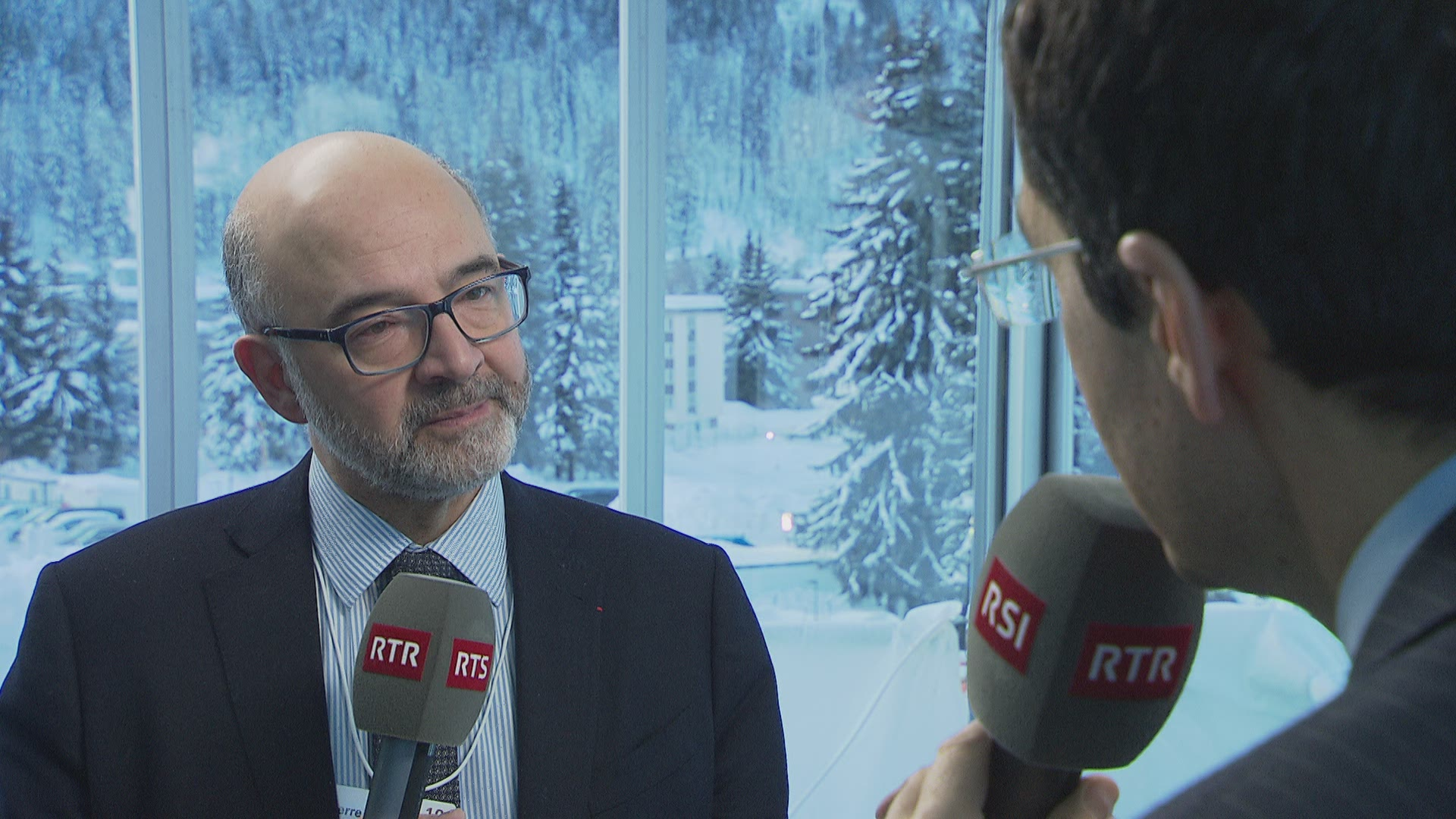 Pierre Moscovici s'exprime sur l'accord institutionnel.