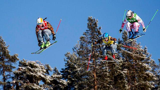 Coupe du monde Ski Cross, Idre, Suède [CHRISTINE OLSSON  - Keystone]