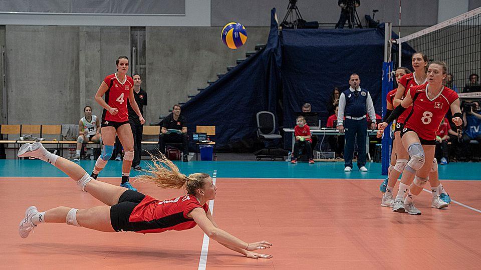 La Suisse de Méline Pierret jouera en Slovaquie. [Georgios Kefalas - Keystone]