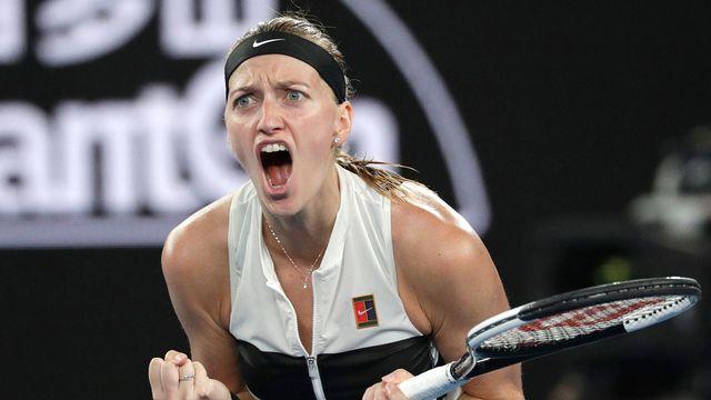 Kvitova disputera samedi sa troisième finale en Grand Chelem. [Kin Cheung - Keystone]