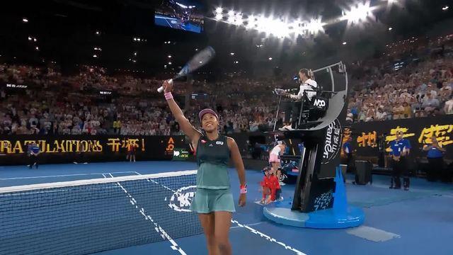 1-2 finale, Naomi Osaka assure sa place en finale après deux heures de match intensif [RTS]