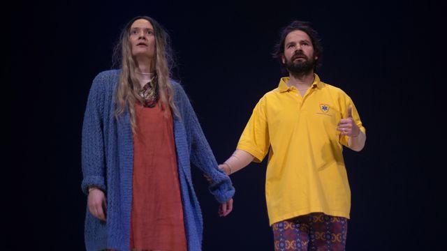 """Une scène de la pièce """"Le Royaume"""" par Oscar Gómez Mata. [Mathilda Olmi/Noa Vuagniaux]"""