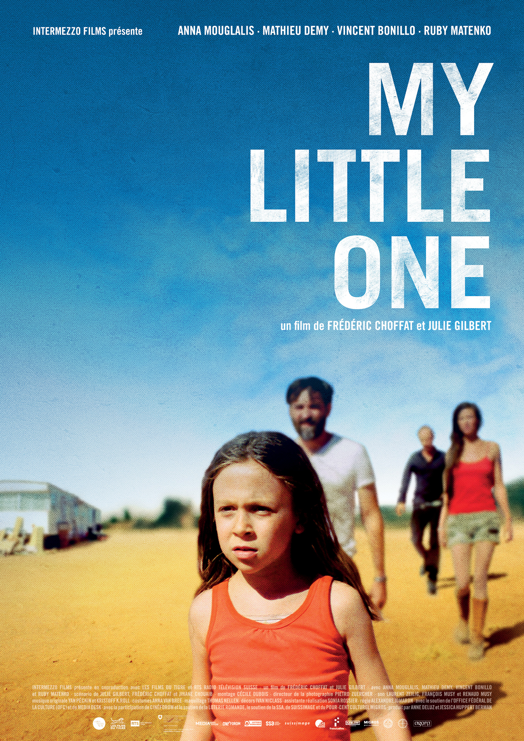"L'affiche du film ""My little one"", de Frédéric Choffat et Julie Gilbert."