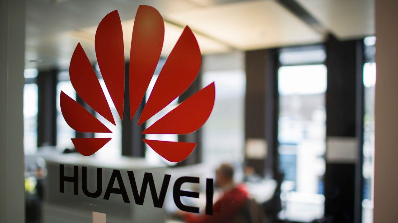 Le siège du bureau suisse de Huawei, à Dübendorf, dans le canton de Zurich. [Gaetan Bally - keystone]