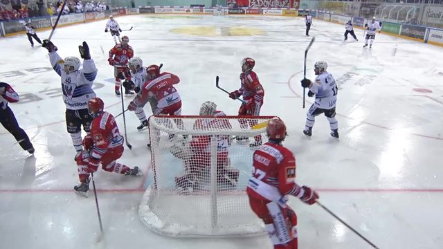 National league, 39e journée : Rapperswil - Fribourg (3-0) [RTS]