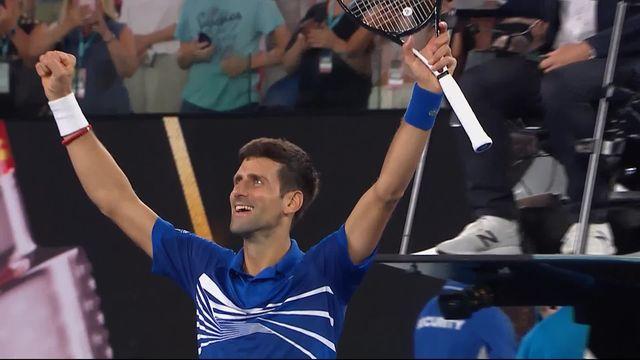 1-2 finale, N. Djokovic (SRB) – L. Pouille (FRA) 6-0 6-2 6-2: Djoko ne perd que quatre jeux et écrase Pouille en trois manches [RTS]