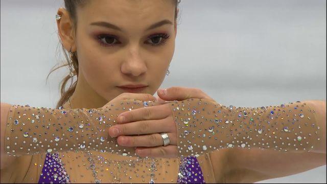 Libre dames, Sofia Samodurova (RUS) prend la 1ère place [RTS]