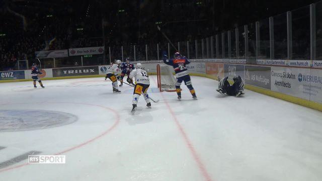National League, 39e journée: Zurich - Zoug (4-3 ap) [RTS]