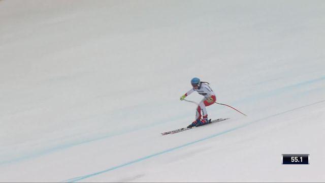 Garmisch (GER), super G dames: Jasmine Flury (SUI) [RTS]