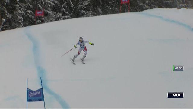 Garmisch (GER), super G dames: Corinne Suter (SUI) [RTS]