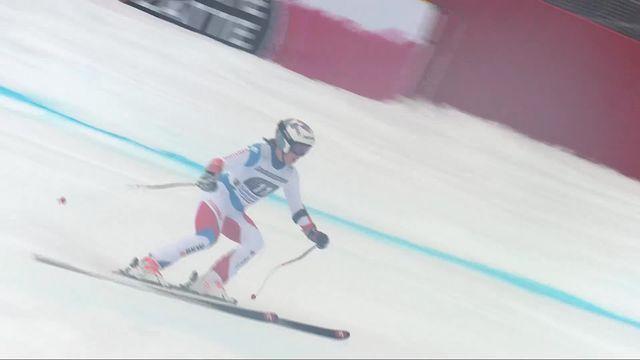 Garmisch (GER), super G dames: Michelle Gisin (SUI) [RTS]